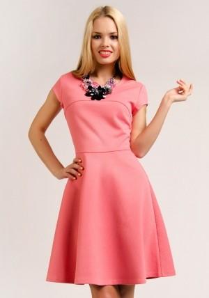 ПлатьеПлатья<br>Состав: ткань 1: 95% полиэстер, ткань 1: 5% эластан, ткань 2: 100% полиэстер<br>
