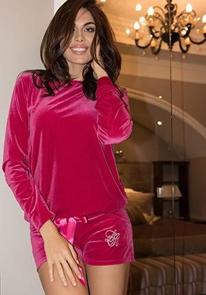 Шорты пижамныеШорты<br>Состав: 90% полиэстер, 10% эластан<br>