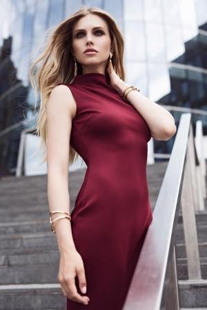 ПлатьеПлатья<br>Состав: 95% полиэстер, 5% эластан<br>