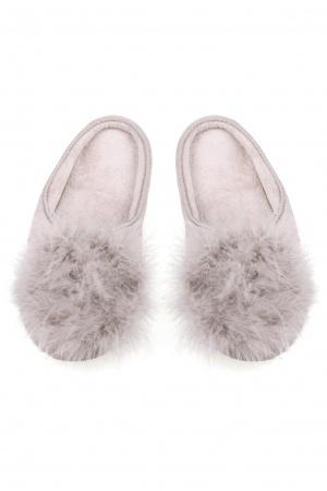 Туфли комнатныеТапочки<br>Состав: Верх обуви: текстиль, Внутренняя отделка: текстиль, Подошва: текстиль, Подошва: резина<br>