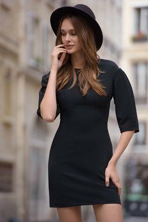 ПлатьеПлатья<br>Состав: 85% полиэстер, 10% люрекс, 5% эластан, Подкладка: 97% полиэстер<br>