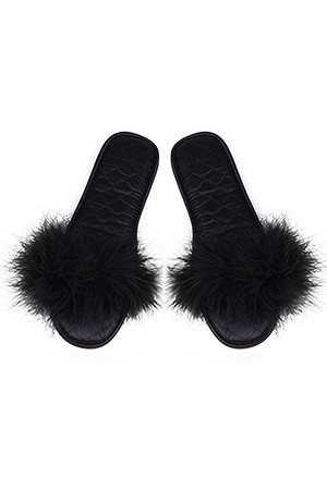 Туфли комнатныеТапочки<br>Состав: Верх обуви: 100% полиэстер, Внутренний слой: 100% полиэстер, Подошва: 100% резина<br>