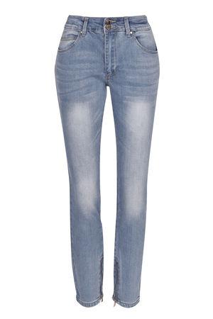 Брюки джинсовыеДжинсы<br>Состав: 98% хлопок, 2% эластан<br>