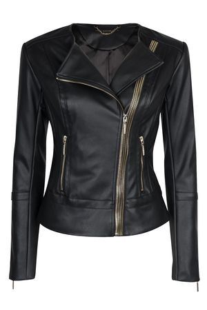 КурткаКуртки<br>Состав: Внешний слой: 100% полиуретан, Внутренний слой: 100% вискоза, Подкладка: 97% полиэстер, Подкладка: 3% эластан<br>