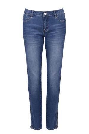 Брюки джинсовыеДжинсы<br>Состав: 99% хлопок, 1% эластан<br>